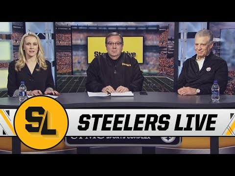 Art Rooney II discusses Antonio Brown, Ryan Shazier, Playing in Mexico | Steelers Live