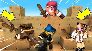 Minecraft ITA - Il Nostro FORTINO di SCATOLE!! - W/Lyon