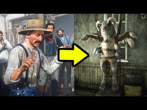 Thomas Downes Created THE MUTANT in Red Dead Redemption 2?
