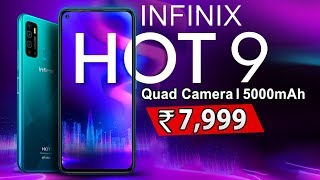 Infinix Hot 9 Launch date in India, Infinix Hot 9 Price l Best Smartphones Under 8000 in India 2020
