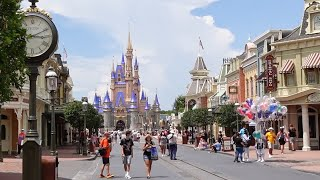 Back At Disney Worlds Magic Kingdom For The First Official Reopening Day! | How Crowded Is It?