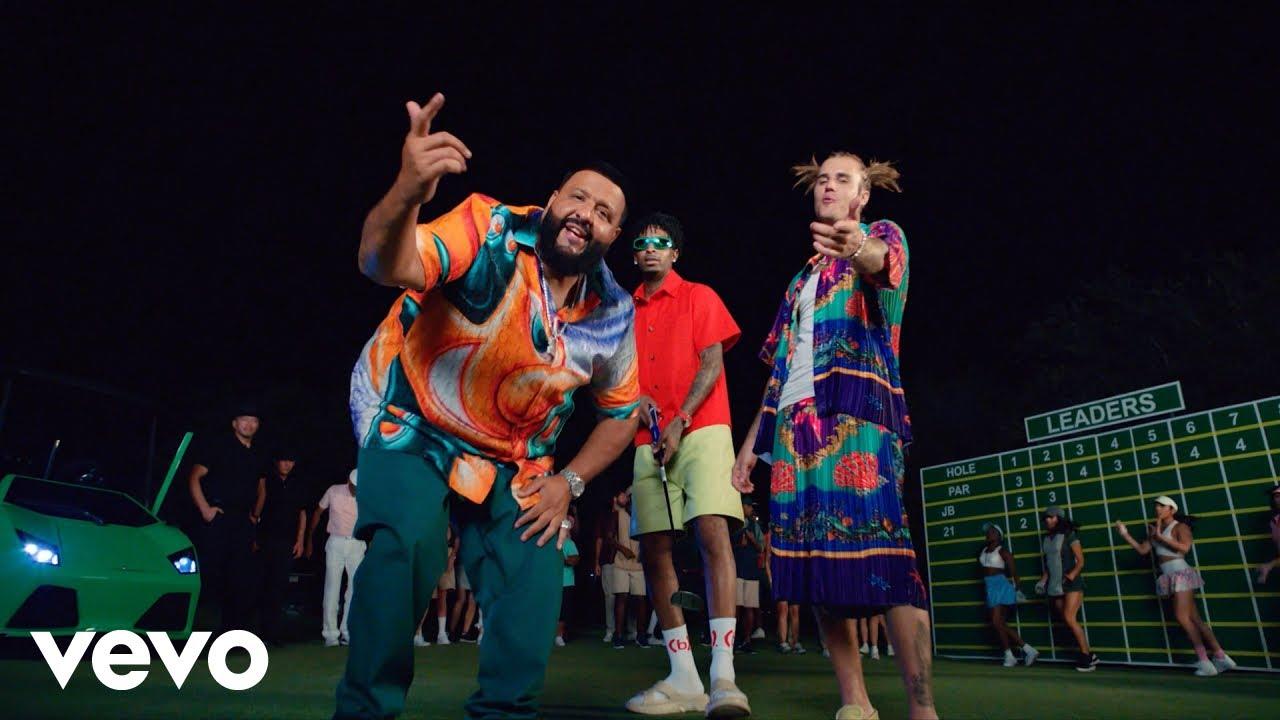 DJ Khaled ft. Justin Bieber, 21 Savage — Let It Go