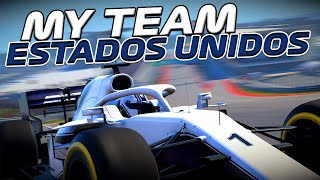 F1 2020 - MY TEAM - GP DOS EUA - DESPERDIÇANDO AS OPORTUNIDADES - EP 86
