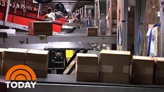 How Amazon And Other Services Are Working To Deliver Packages Safely | TODAY