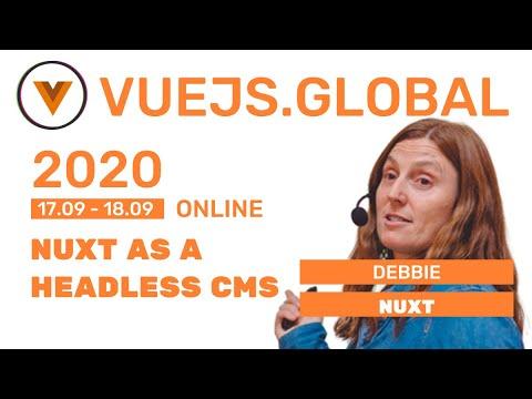 Image thumbnail for talk Nuxt.js as a headless CMS
