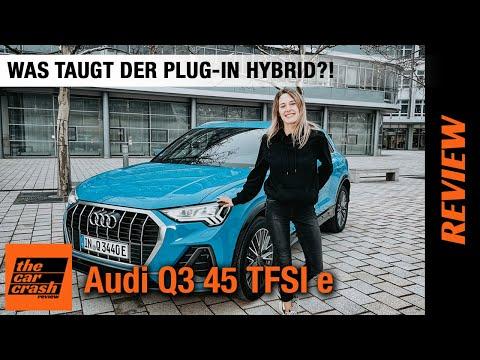Audi Q3 45 TFSI e (2021) im Test! 💙Was taugt der Plug-in Hybrid?! 🔋🔌 Fahrbericht | Review | Preis