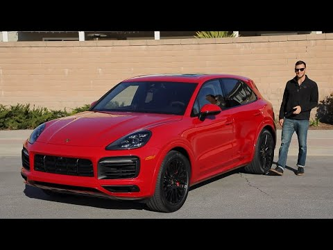 2021 Porsche Cayenne GTS Test Drive Video Review