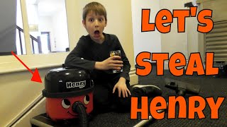 Shall We STEAL HENRY THE HOOVER? ~ Little Bit from Behind the Scenes of Henry Hoover TV Family Life