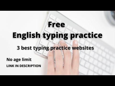 Free english typing practice 3 best practice websites