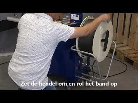 Ampag Boxer II: Band verwijderen