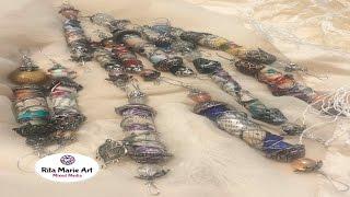 Mixed Media BoHo Gypsy Clay Beads Tutorial