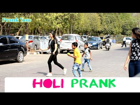 Epic Holi Prank by Kids on hot girls From Prank You ☺😅💦