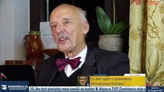 Janusz Korwin-Mikke o Grecie Thunberg ☻