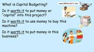 🔴 Capital Budgeting in 10 min., Capital Budgeting Techniques Decisions NPV Net Present Value