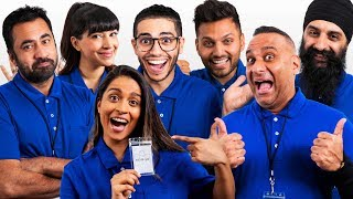 Brown people can be confusing. Don't stress we're here to help! Introducing The Brown Bar, featuring all-star employees Jay Shetty, Mena Massoud, Kal Penn, Hannah Simone, Russell Peters, Humble the Poet and Lilly Singh!   STALK OUR EMPLOYEES: Jay Shetty: https://www.instagram.com/jayshetty/?hl=en Mena Massoud: https://www.instagram.com/menamassoud/?hl=en Kal Penn: https://www.instagram.com/kalpenn/?hl=en Hannah Simone: https://www.instagram.com/therealhannahsimone/ Russell Peters: https://www.instagram.com/russellpeters/?hl=en Humble the Poet: https://www.instagram.com/humblethepoet/?hl=en  Subscribe: http://bit.ly/SubLillySingh | MERCH: https://lillysingh.com Watch When Brown People Throw Surprise Parties! https://youtube.com/watch?v=wlV8149tnnA   If you want to add translations, click the gear icon and go to Subtitles/CC then to Add subtitles or CC!   Follow Paramjeet: Instagram: https://instagram.com/iiparamjeetii/ Twitter: https://twitter.com/iiparamjeetii/   Follow Manjeet: Instagram: https://instagram.com/iimanjeetii/ Twitter: https://twitter.com/iimanjeetii/   Get HOW TO BE A BAWSE: https://lillysinghbook.com   Follow Lilly Singh: Facebook: https://facebook.com/IISuperwomanII/ Instagram: https://instagram.com/iisuperwomanii/ Twitter: https://twitter.com/iisuperwomanii Lilly Singh Vlogs: https://youtube.com/user/SuperwomanVlogs Official Website: http://lillysingh.com/   Watch More Lilly Singh: Types Of People: https://youtube.com/watch?v=eR_nzGqYXNw&list=PLuBXqtS2jaLMu81JnF6AOnRHzG6Csbd6y My Parents: https://youtube.com/watch?v=EPHMXbZml_s&list=PLuBXqtS2jaLOGQynSYvxaqUgvNl7Ovz8x Skits: https://youtube.com/watch?v=jyxi0rfEDnE&list=PLuBXqtS2jaLMhu9PU0tAaHbnqloWibwl0 The Super Rants: https://youtube.com/watch?v=KYadw8gNOok&list=PLuBXqtS2jaLPopv899QwFphiirmD_XWdq Latest Uploads: https://youtube.com/user/IISuperwomanII/videos?view=0&sort=dd&shelf_id=2   Thanks for watching and don't forget to keep smiling. You're worth it! xoxo