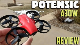 Potensic A30W WIFI FPV Whoop Flight Review
