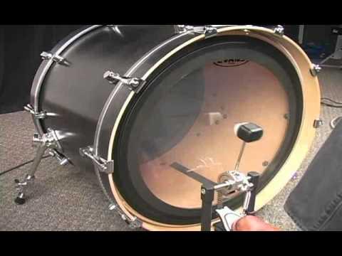 evans 24 inch emad clear bass drum head pmt online. Black Bedroom Furniture Sets. Home Design Ideas