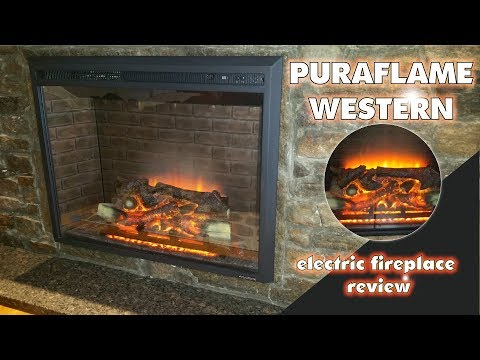 Electric Fireplace Review / Puraflame Western Fireplace Insert