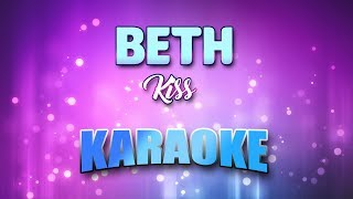 "Video thumbnail of ""Kiss - Beth (Karaoke & Lyrics)"""