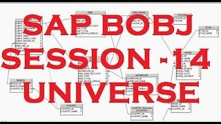 Universe - Part - 7 - Indexes - SAP Business Objects Tutorial (BOBJ) 4.0 - Session - 14