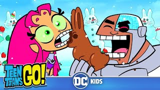 Teen Titans Go! | How The Santa Stole Easter | DC Kids