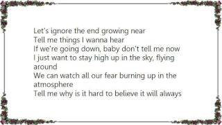 Jon McLaughlin - The Atmosphere Lyrics