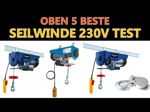 Beste Seilwinde 230v Test 2019