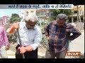 Aaj Ki Baat Good News: Meet Gangadhar Tilak, who repairs potholes by himself in Hyderabad