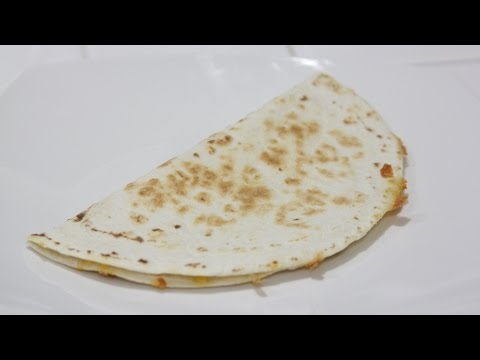 Video How To Make Cheese Quesadilla!