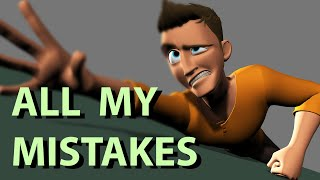 How I became a 3D animator (Part 1) : All my mistakes!