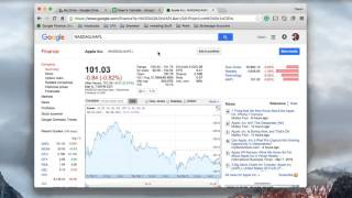 How to use Google Sheets in Finance | Part 11 | Pulling data with GoogleFinance() [HD]