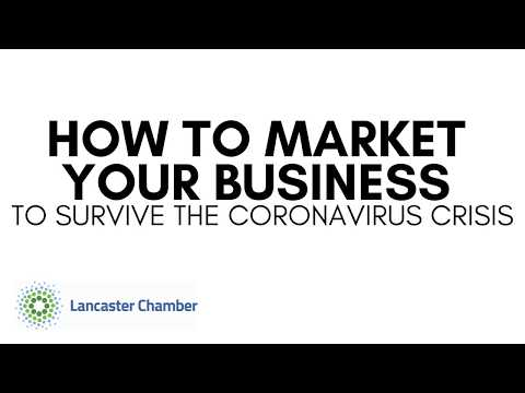 How to Market Your Business to Survive the Coronavirus Crisis [Webinar]