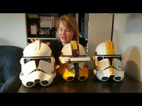 Die besten Quellen für Klon Trooper Helme