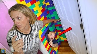 Video I BUILT A TOP SECRET Hide and Seek LEGO MEGA BLOCKS HOUSE! MP3, 3GP, MP4, WEBM, AVI, FLV Agustus 2019