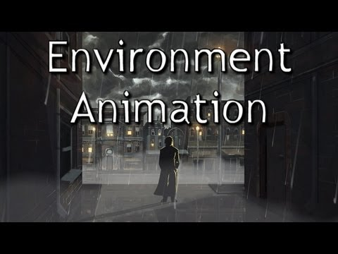 Environment Animation Tutorial (Rain/Wind/Fog) In Flash