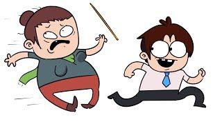 PRANK OVER TEACHERS (animation)