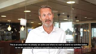 0:14 / 5:31  CEO Henrik Larsson Lyon in interview about Q2 – 2020.