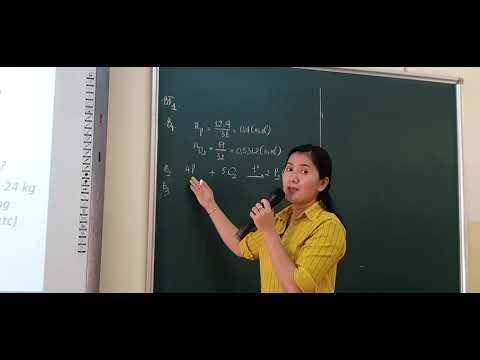 Ôn tập cách giải bài toán tính theo phương trình hóa học