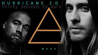 HURRICANE 2.0 - Thirty Seconds to Mars feat. Kanye West (cover) 4K