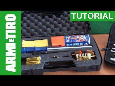 I Kit di pulizia Beretta per fucili a canna liscia