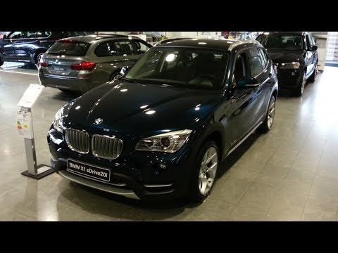 In Depth Review Interior Exterior : BMW X1 2015