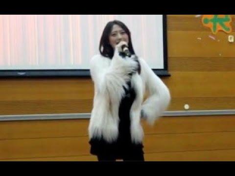 大學美女老師一首《high歌》徹底出名了 一開口以為原唱來了 驚豔全場