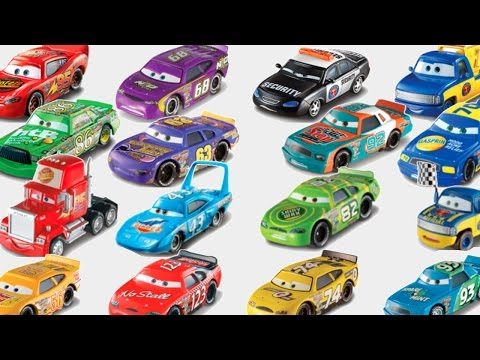 DISNEY PIXAR CARS PISTON CUP RACERS COMPLETE SET LIGHTNING MCQUEEN CHICK HICKS