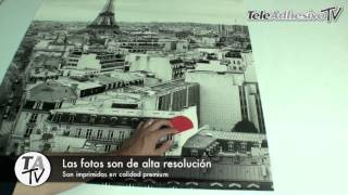 Fotomurales De TeleAdhesivo - Lo Que Recibes