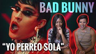 "We React to Bad Bunny ""Yo Perreo Sola"""