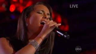 Alicia Keys Send Me An Angel Live Whitney Houston Funeral Jay-Z Glory Blue Ivy Carter Music Video HD