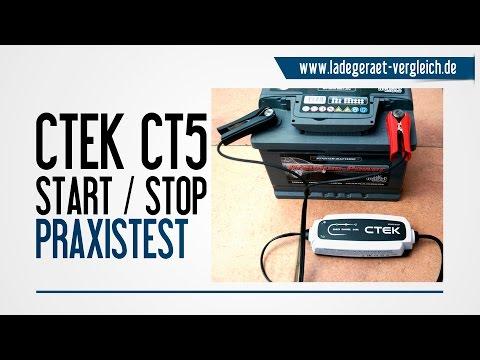 CTEK CT5 Start Stop Test - Wir testen das automatische Ladegerät in der Praxis
