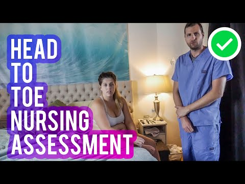 Head-to-Toe Assessment Nursing // Final Assessment Video for NP School
