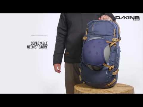 Dakine Poacher Ski / Snowboard Rucksack mit Tragesystem für die Piste