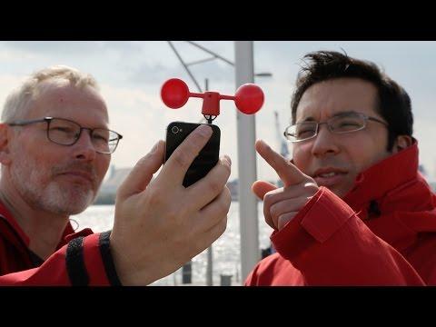 Vaavud VAV-1W: Smartphone-Windmesser